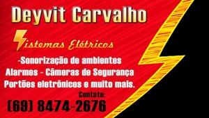 Deyvit Carvalho Eletricista