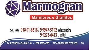 Marmogran cartão