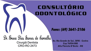 Dra Bruna - Consultorio Odontologico