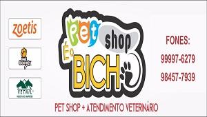 pet shop é o bicho