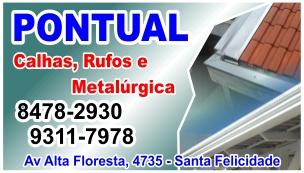 Pontual Calhas, Rufos e Metalúrgica