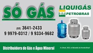 só gás